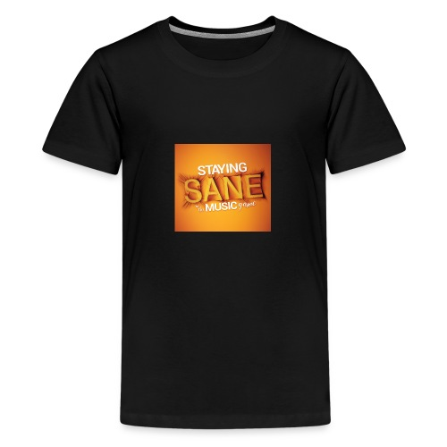 Staying Sane In The Music Game Design - Teenage Premium T-Shirt