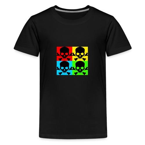 Art Skull - Teenage Premium T-Shirt