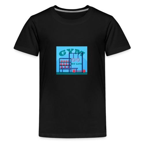 GYM - Teinien premium t-paita