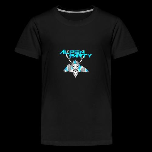 Alpenparty - Die geilste Party im Land - Teenager Premium T-Shirt
