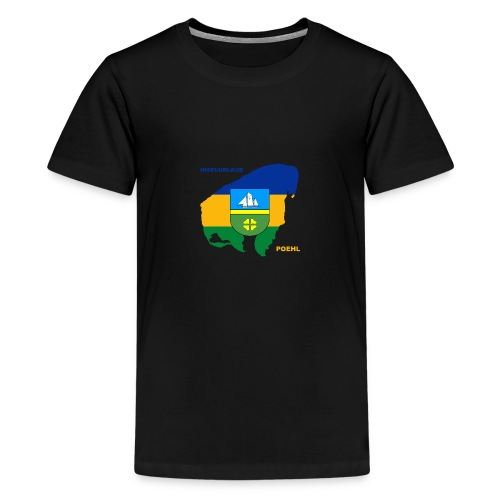 Poehl Insel Ostsee Urlaub - Teenager Premium T-Shirt