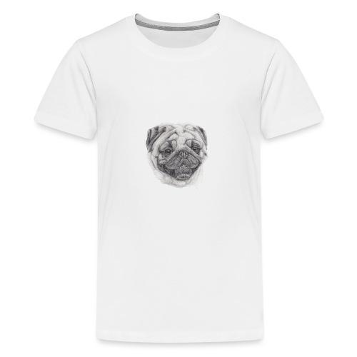 Pug mops 2 - Teenager premium T-shirt