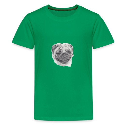 Pug mops 2 - Teenager premium T-shirt
