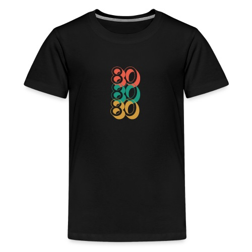 For The Love of The 80's - Teenage Premium T-Shirt