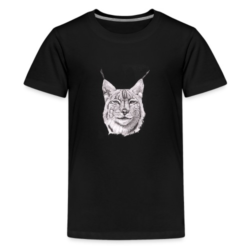 lynx - Teenager premium T-shirt