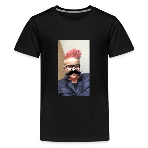 Mustach - Premium-T-shirt tonåring