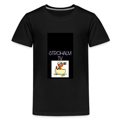 STROHALMTVLOGO - Teenager Premium T-Shirt