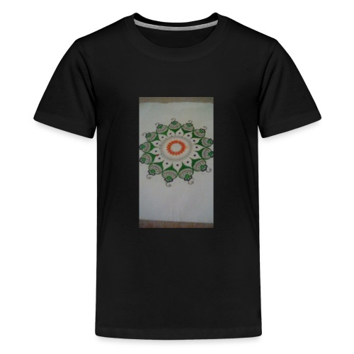 Freehand pattern by josef - Teenage Premium T-Shirt