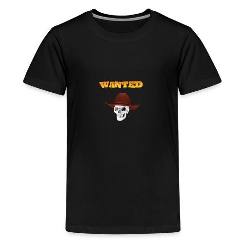 WANTED AR - Camiseta premium adolescente
