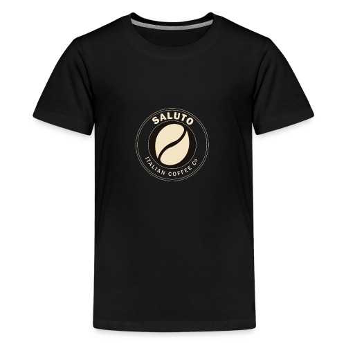 Saluto Coffee Edinburgh - Teenage Premium T-Shirt