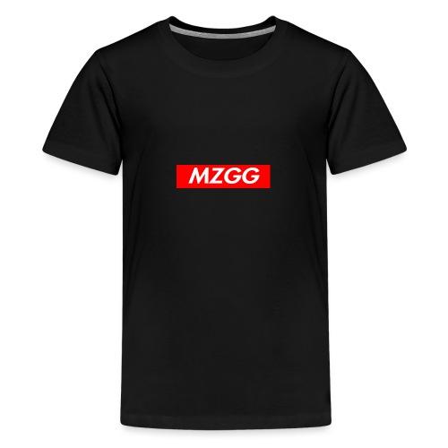 MZGG FIRST - Premium-T-shirt tonåring