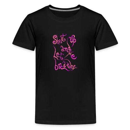 babble pink and yellow - Maglietta Premium per ragazzi