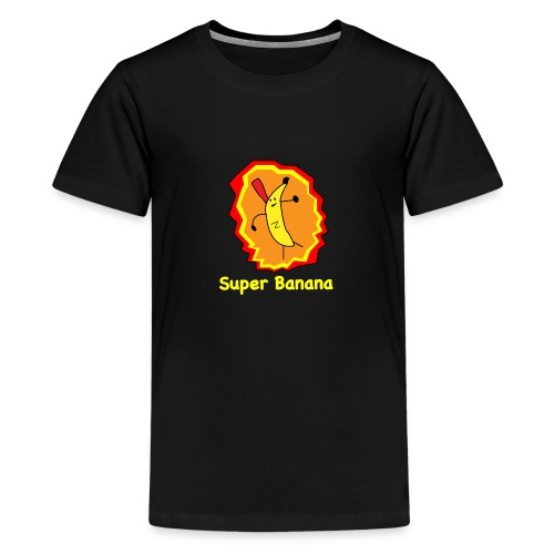 Super Banana - Teenage Premium T-Shirt