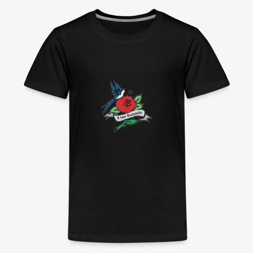 rockabilly tattoo retro patjila - Teenage Premium T-Shirt