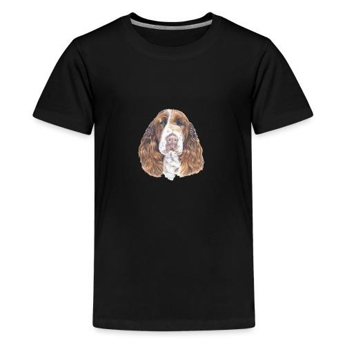 engelsk Springer Spaniel - Teenager premium T-shirt