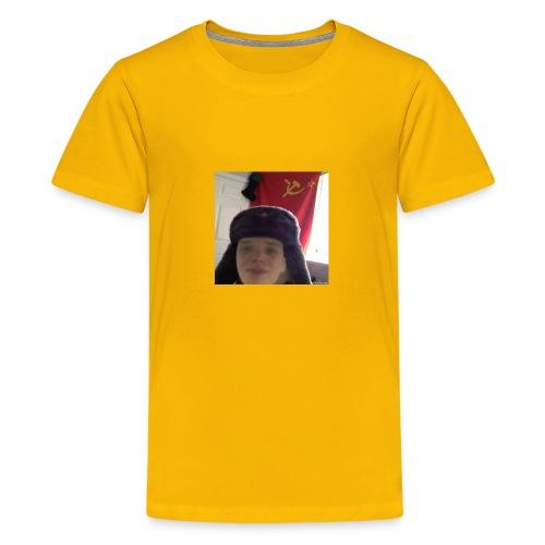 Kommunisti Saska - Teinien premium t-paita
