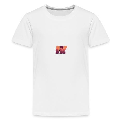 Ishaan Kulkarni Logo (1) - Teenage Premium T-Shirt