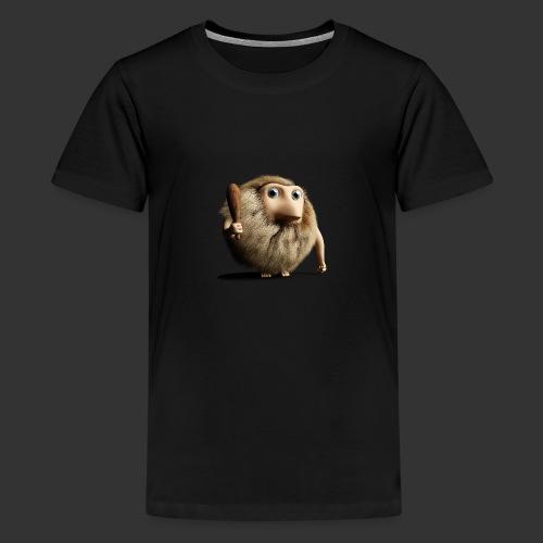 Neandertaler Neanderthaler Urmensch mit Keule - Teenager Premium T-Shirt