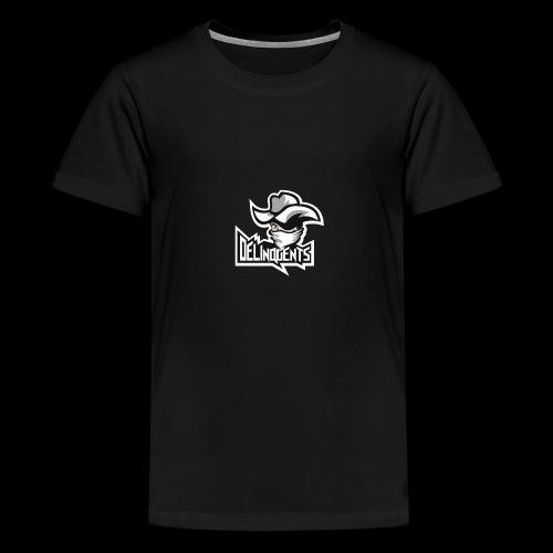 Delinquents Sort Design - Teenager premium T-shirt