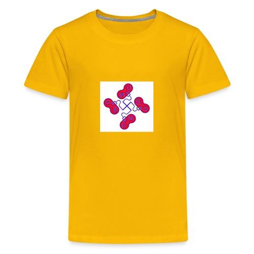 unkeon dunkeon - Teinien premium t-paita