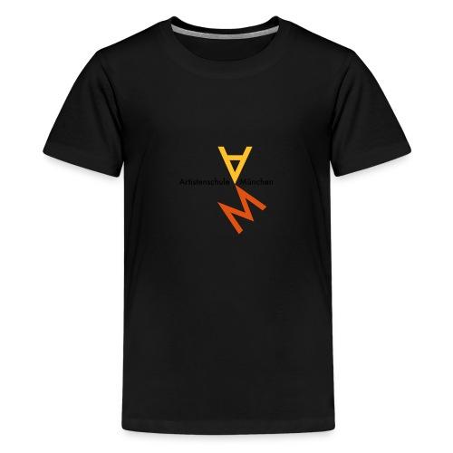 orangegruen s klein - Teenager Premium T-Shirt