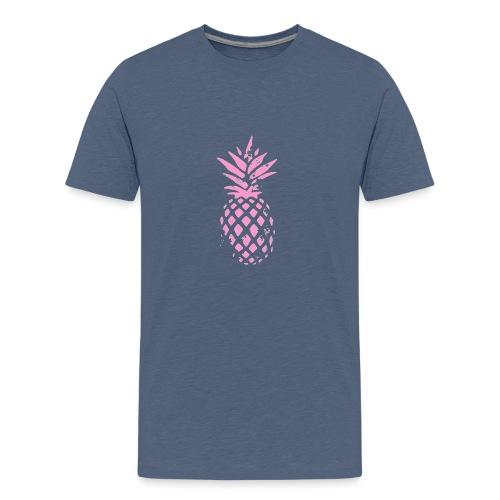 ananas rose - T-shirt Premium Ado