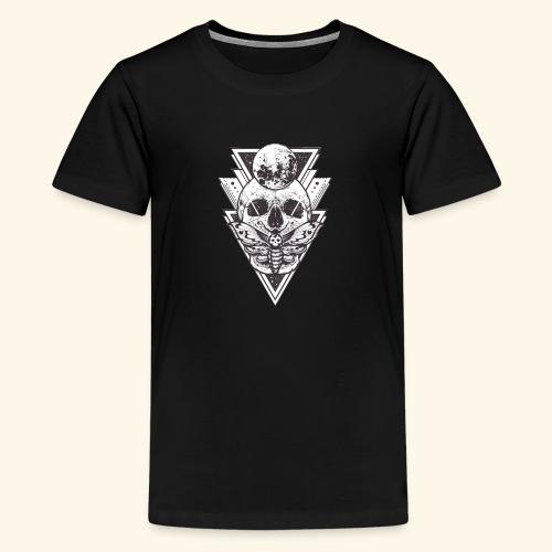 CALAVERA MODELO DIMENSIONAL - Camiseta premium adolescente