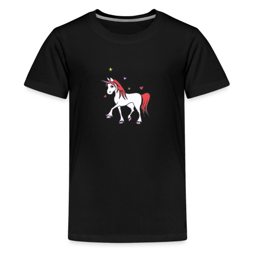 Licorne CLara - Teenager Premium T-Shirt