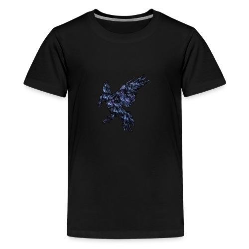 Ravn - Premium T-skjorte for tenåringer