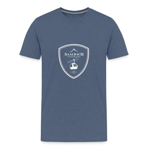 Skilift embleem Saalbach Hinterglemm - Teenager Premium T-shirt