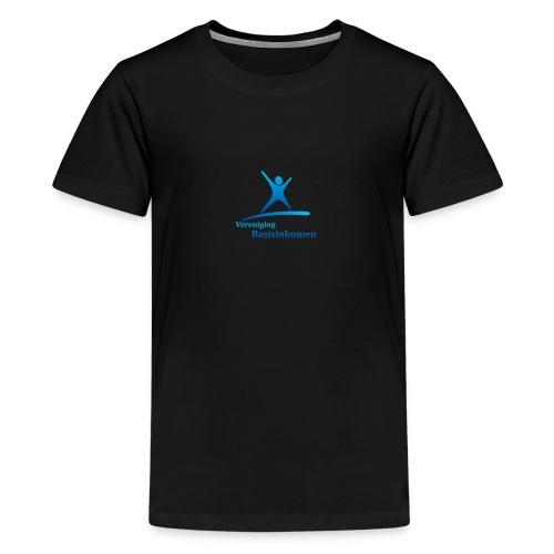 vbi logo transparant - Teenager Premium T-shirt