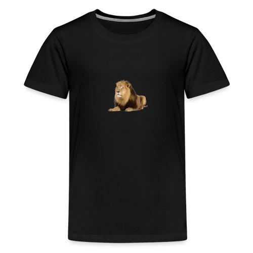 Löwe / erdem - Teenager Premium T-Shirt