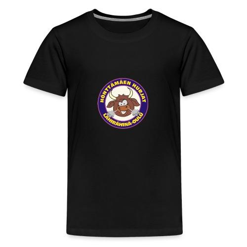 Hönttämäen hurjat - Teinien premium t-paita