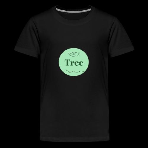 Tree1 - Teenager Premium T-Shirt
