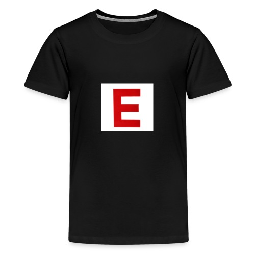 Itz Ethan Red Logo T-Shirt - Teenage Premium T-Shirt