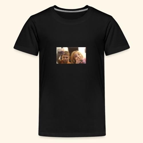 denby fist=nockout - Teenage Premium T-Shirt