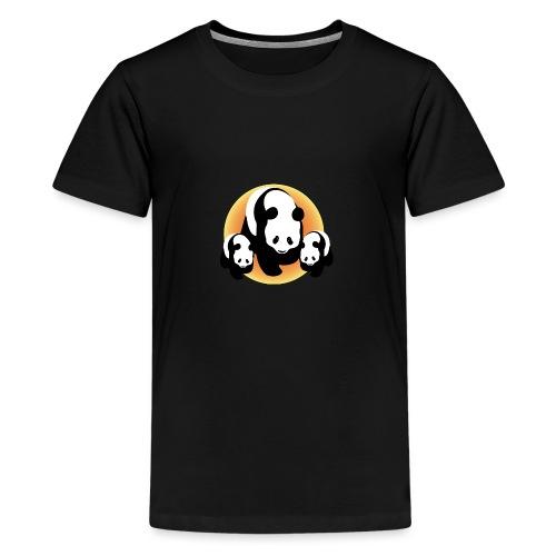 Chineese Panda's - Teenager Premium T-shirt