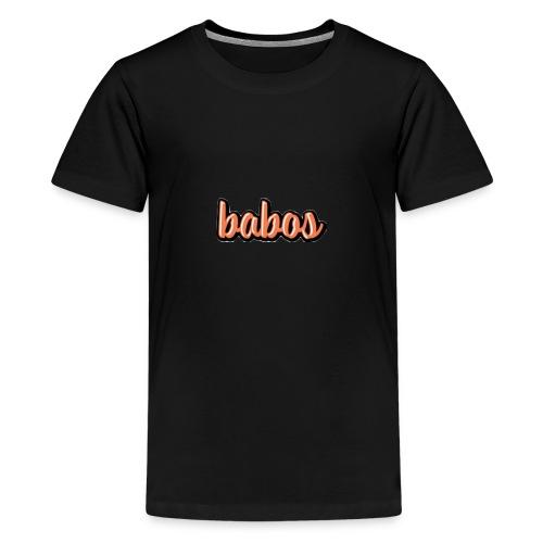 babos - Premium T-skjorte for tenåringer