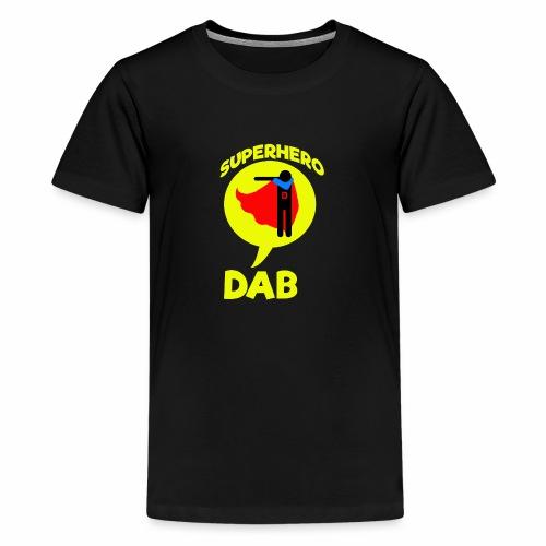 Dab supereroe/ Dab Superhero - Maglietta Premium per ragazzi