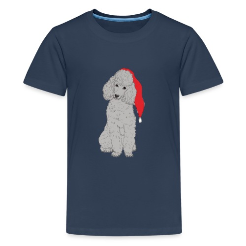Poodle toy G - christmas - Teenager premium T-shirt