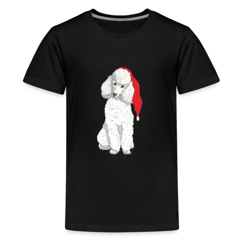 Poodle toy W - christmas - Teenager premium T-shirt