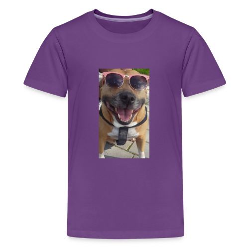Cool Dog Foxy - Teenager Premium T-shirt