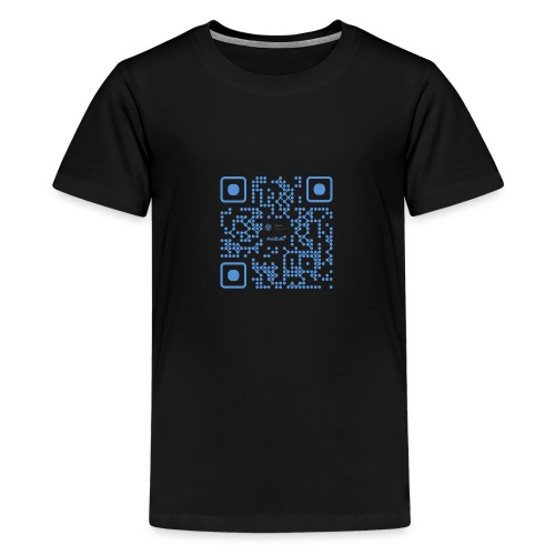 QR Maidsafe.net - Teenage Premium T-Shirt