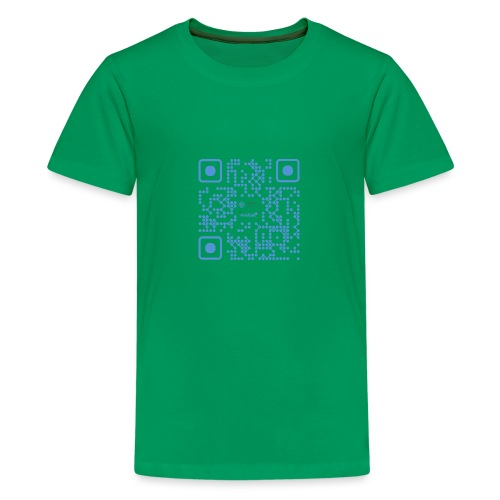 QR Maidsafe.net - Teenage Premium T-Shirt
