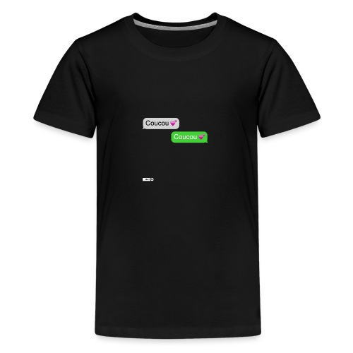 coucou mon coeur - T-shirt Premium Ado