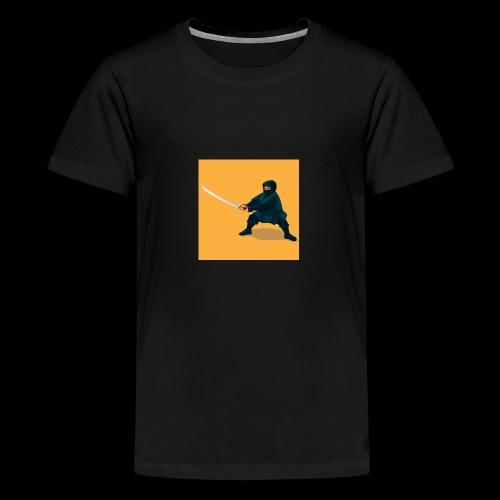 dikke ninja - Teenager Premium T-shirt