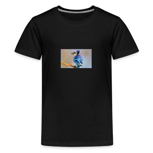 sfw apa 2013 28342 232388 briankushner blue jay kk - Teenage Premium T-Shirt