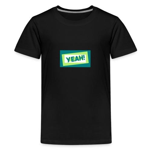 Teddy.Kidswear. – Yeah! - Teenager Premium T-Shirt