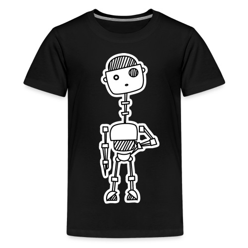 robot 001 02 - Teenager Premium T-shirt