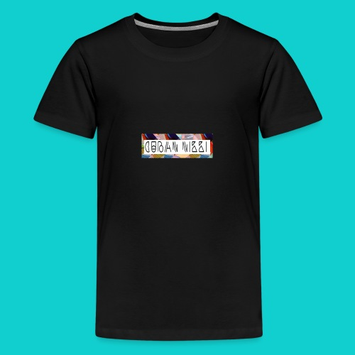Cuban Nikki Logo - Teenage Premium T-Shirt